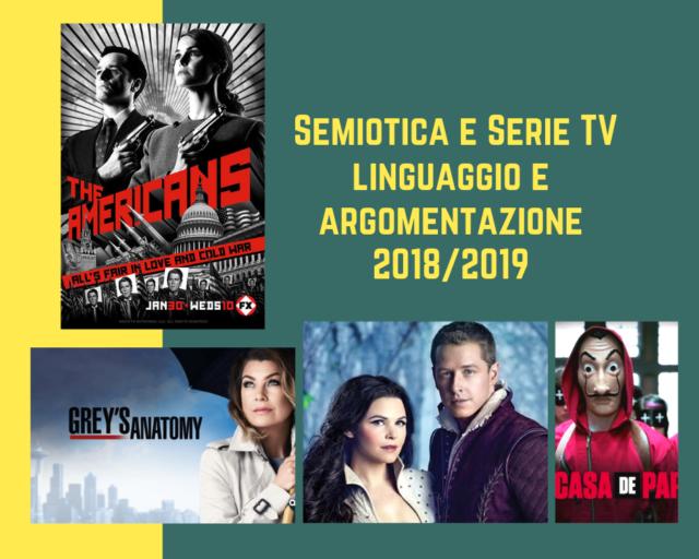 Semiotica e personaggi delle serie televisive